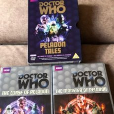 Series de TV: DVD DOCTOR WHO - PELADON TALES: THE CURSE OF PELADON (EP 61) Y THE MONSTER OF PELADON (EP 73)DR3 ING. Lote 222232837