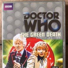 Series de TV: DVD DOCTOR WHO - THE GREEN DEATH SPECIAL EDITION - DR. 3 EN INGLÉS. Lote 222233006