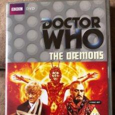 Series de TV: DVD DOCTOR WHO - THE DAEMONS - DR 3 - EP 59 EN INGLÉS. Lote 222233300