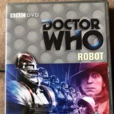 Series de TV: DVD DOCTOR WHO - ROBOT - EP 75 - DR 4 EN INGLÉS. Lote 222233478
