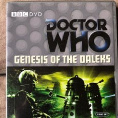 Series de TV: DVD DOCTOR WHO - GENESIS OF THE DALEKS - EP 77 - DR 4 EN INGLÉS. Lote 222233581