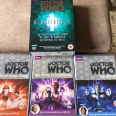 Series de TV: DOCTOR WHO - REVISITATIONS 1: THE TALONS OF WENG-CHIANG DR4 THE CAVES OF ANDROZANI DR5 THE MOVIE DR8. Lote 222234402