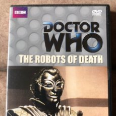 Series de TV: DVD DOCTOR WHO - THE ROBOTS OF DEATH - DR 4 - EP 90 EN INGLÉS. Lote 222234575