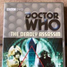 Series de TV: DVD DOCTOR WHO - THE DEADLY ASSASSIN - EP 88 - DR 4 EN INGLÉS. Lote 222234793