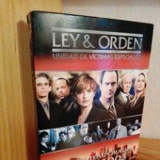 Séries TV: LEY Y ORDEN UNIDAD DE VICTIMAS ESPECIALES TEMPORADA 4 COMPLETA DVD. Lote 222444812