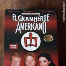 Series de TV: EL GRAN HÉROE AMERICANO - TEMPORADAS 1 Y 2 COMPLETAS EN 11 DVD'S. Lote 222535200