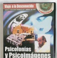 Series de TV: PSICOFONIAS Y PSICOIMAGENES DVD. Lote 222597708