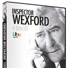 """Series de TV: INSPECTOR WEXFORD 4DVD """"RUTH RENDELL"""" - DVD NUEVO Y PRECINTADO. Lote 222625547"""