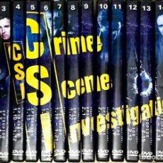 Series de TV: CSI LAS VEGAS 1ª Y 2ª TEMPORADA COMPLETA 16 DVD COLECCION INVESTIGACION CRIMEN SERIE TV. Lote 173456120