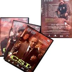 Series de TV: CSI 3 DVD - SEGUNDA 2º TEMPORADA 13-23 COMPLETO INVESTIGACION CRIMEN. Lote 179196552