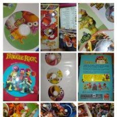 Series de TV: ÁLBUM DVD PRIMERA TEMPORADA FRAGGLE ROCK CONTIENE 22 DVD. Lote 223276335