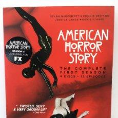 Series de TV: AMERICAN HORROR STORY - 1ª TEMPORADA COMPLETA . 4 DISCOS - NUEVO CON PRECINTO . AUDIO EN INGLES. Lote 223389728