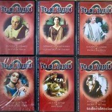 Series de TV: COLECCION COMPLETA DVD YO CLAUDIO - NUEVO PRECINTADO - SERIE LOTE 6 DVD SERIE TV CAPITULOS. Lote 223532500
