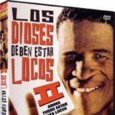 Séries TV: LOS DIOSES DEBEN ESTAR LOCOS II (THE GODS MUST BE CRAZY II). Lote 223957135
