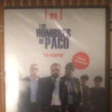 """Series de TV: LOS HOMBRES DE PACO """"LA SUERTE"""" PRIMERA TEMPORADA CAPÍTULO 1 - DVD 2008 ANTENA3 PUBLICO PRECINTADO. Lote 224404798"""