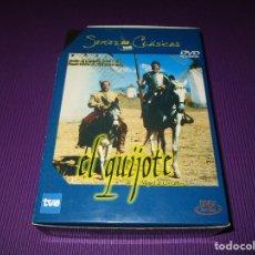 Series de TV: EL QUIJOTE DE MIGUEL DE CERVANTES - 3 DVD - RTVE - SERIES CLASICAS TVE - FERNANDO REY .... Lote 224595160