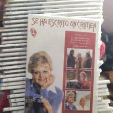Series de TV: SE HA ESCRITO UN CRIMEN DE LA ESCRITORA FLETCHER 35 DVD EPISODIOS DEL 1 AL 105 NUEVOS CON PRECINTO. Lote 225130015