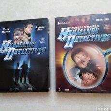 Series de TV: HERMANOS DETECTIVES, 1 Y 2 TEMPORADAS COMPLETAS ( 9 DVD ). Lote 225898125