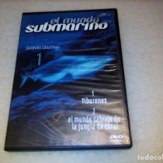 Series de TV: DVD EL MUNDO SUBMARINO. JACQUES COUSTEAU. VOLUMEN 1. Lote 226243220
