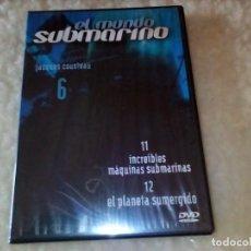 Series de TV: DVD EL MUNDO SUBMARINO JACQUES COUSTEAU. VOLUMEN 6. Lote 226243993