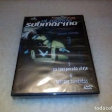Series de TV: DVD EL MUNDO SUBMARINO. JACQUES COUSTEAU. VOLUMEN 3. Lote 226244450