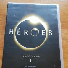 Series de TV: HEROES SERIE DVD (TEMPORADA 1, TEMPORADA 2 Y TEMPORADA 3). Lote 226501195