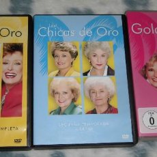 Séries de TV: DVD LAS CHICAS DE ORO, LA SERIE ORIGINAL (1985-1992). TEMPORADAS 1, 2 Y 3.. Lote 228015440