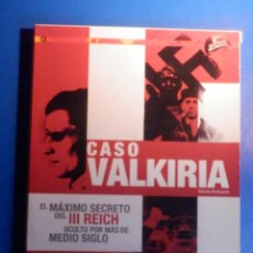 Séries de TV: DOCUMENTAL EN DVD - SEGUNDA GUERRA MUNDIAL - CASO OPERACIÓN WALKIRIA - 2009 - 110 MINUTOS -. Lote 228086425