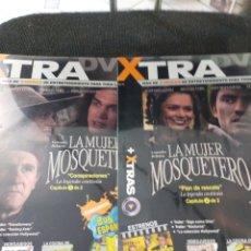 Series de TV: GRANDES RELATOS SERIE DVD LA MUJER DEL MOSQUETERO PLASTIFICADO COMPLETA. Lote 228273856