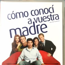 Series de TV: DVD SERIE COMO CONOCI A VUESTRA MADRE PRIMERA TEMPORADA COMPLETA. Lote 228299620