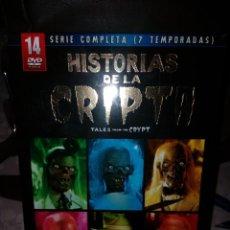 Series de TV: HISTORIAS DE LA CRIPTA SERIE COMPLETA EN DVD. Lote 228740790
