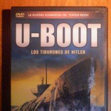 Séries TV: DOCUMENTAL EN DVD - U-BOOT - LOS TIBURONES DE HITLER - GUERRA SUBMARINA TERCER REICH - 180 MINUTOS. Lote 229016990