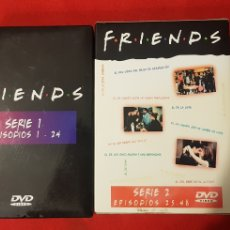 Series de TV: FRIENDS - SERIE 1 Y 2 (8 DVD/ EPISODIOS 1 A 48). Lote 230396205