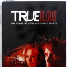 Series de TV: TRUE BLOOD. THE COMPLETE FIRST AND SECOND SEASON. SERIE TELEVISION 10 DVDS. Lote 230974505