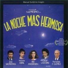 Serie di TV: LA NOCHE MAS HERMOSA. Lote 231597735