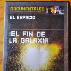 Serie di TV: EL FIN DE LA GALAXIA - DVD SERIE DOCUMENTAL EL ESPACIO. Lote 233108610