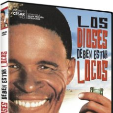 Séries TV: LOS DIOSES DEBEN ESTAR LOCOS (THE GODS MUST BE CRAZY). Lote 233717715