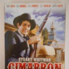 Series de TV: CIMARRON. VOLUMEN 1. 4 DVD'S CON 4 EPISODIOS COMPLETOS. CON STUART WHITMAN, HENRY SILVA, BEAU BRIDGE. Lote 233960635