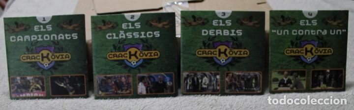 LOTE 4 DVD CRACKOVIA CUBIERTA CARTON (Series TV en DVD)