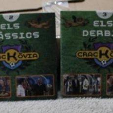 Series de TV: LOTE 4 DVD CRACKOVIA CUBIERTA CARTON. Lote 234045655