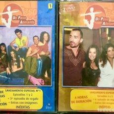 Series de TV: LOTE 2 DVD PRECINTADOS - UN PASO ADELANTE - NUEVO 1 2 3 4 5 6 - TEMPORADA 1 UPA DANCE SERIE TV. Lote 234138200