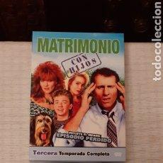 Series de TV: TERCERA TEMPORADA COMPLETA, , MATRIMONIO CON HIJOS,. Lote 235331190
