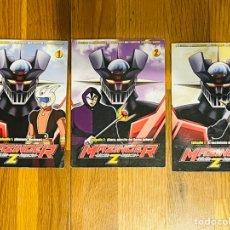 Series de TV: LOTE 3 DVD, MAZINGER Z, EDICIÓN IMPACTO.. Lote 235339060