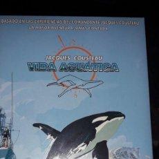 Serie di TV: 5 DVDS SERIE COMPLETA DE ANIMACIÓN 'JACQUES COUSTEAU - VIDA ACUÁTICA' -. Lote 235526160