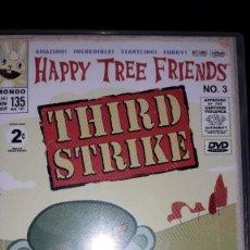 Séries de TV: DVD 'HAPPY TREE FRIENDS' N°3 - THIRD STRIKE. Lote 235527370
