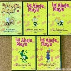 Series de TV: LOTE 5 DVD LA ABEJA MAYA SERIE PLANETA JUNIOR DVD - COLECCION INFANTIL - WILLI FLIP PUCK VOLAR. Lote 236170405