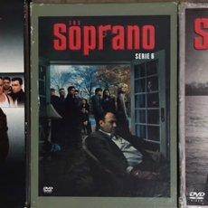 Series de TV: LOTE DVD LOS SOPRANO SERIE TV - PRIMERA TEMPORADA COMPLETA - SERIE 6 Y CAPITULOS FINALES - HBO. Lote 236661670