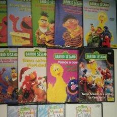 Series de TV: BARRIO SÉSAMO, EPI Y BLAS. 12 DVD'S . COMPLETA (TODOS PRECINTADOS). Lote 236827385