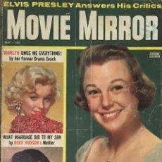 Series de TV: REVISTA MOVIE MIRROR MAYO 1957 - MARILYN MONROE EN PORTADA JUNE ALLYSON ELVIS PRESLEY KIM NOVAK. Lote 236844065