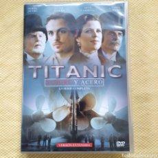 Series de TV: DVD TITANIC SANGRE Y ACERO 4 DVDS. Lote 236872575